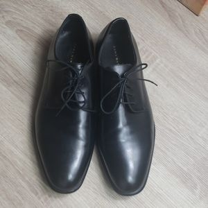 ZARA MAN LEATHER OXFORD POINTED SHOES SIZE 44